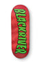 Red Thrasher Logo 7Ply Blackriver Fingerboard Deck