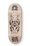 Natural Ruben Young 7Ply Blackriver Fingerboard Deck