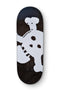 New Skull 7 Ply Blackriver Fingerboard Deck