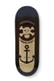 Black Anchor 7Ply Blackriver Fingerboard Deck
