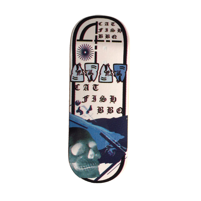 Catfishbbq Blues Fingerboard Deck (Freshwater)