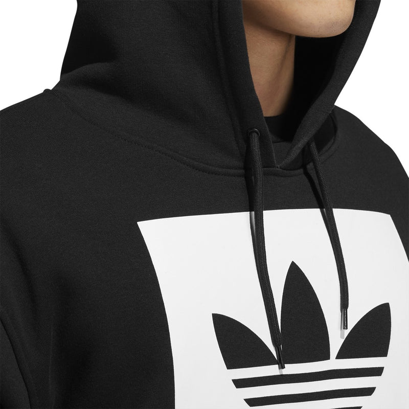 Adidas Solid BB Pullover Hoodie - Black/White