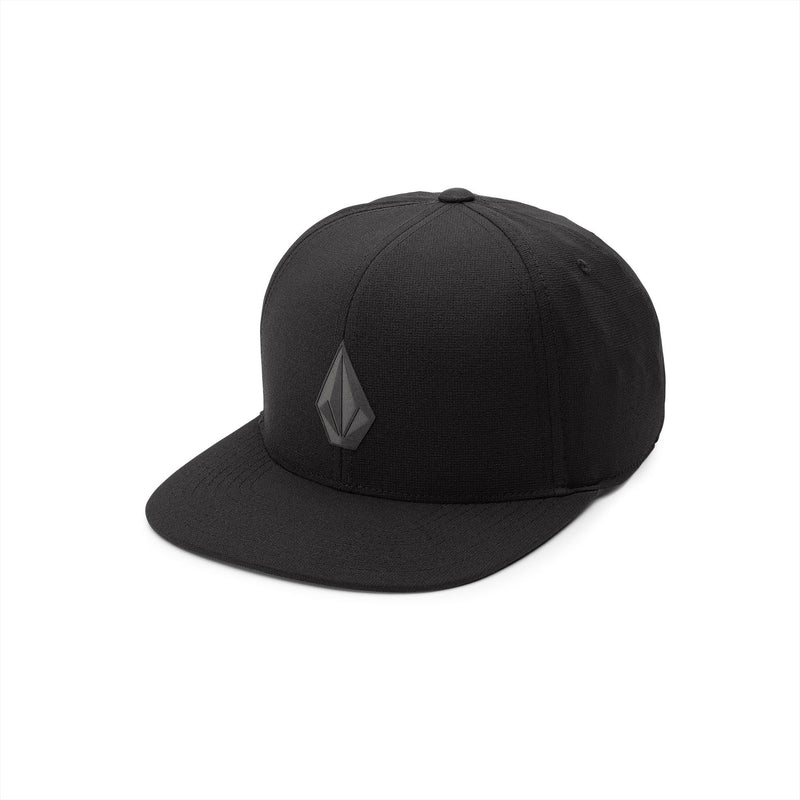 Black 110 Stone Tech Volcom Snapback Hat