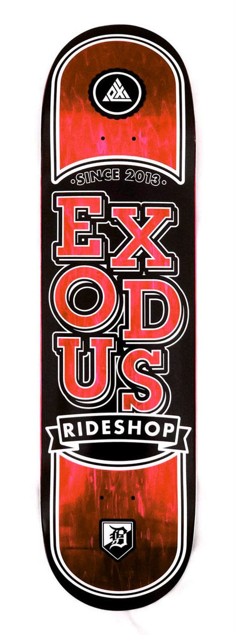 Exodus Stacked Stained Shop Deck - Various Colors