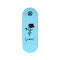 Light blue Anoixi Rose Exodus Fingerboard