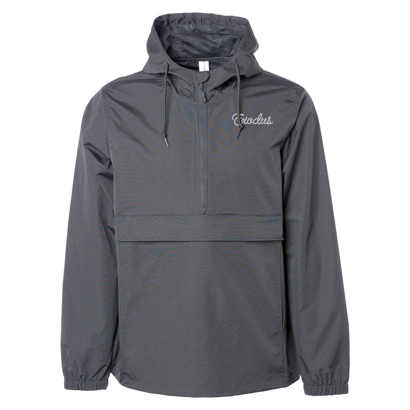 Exodus Shredded Waterproof Anorak Jacket - Charcoal