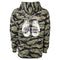 Exodus Shredded Pullover Hoodie - Tiger Camo