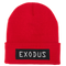 Exodus Optical Watch Beanie - Red