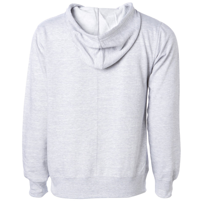 Exodus Optical Embroidered Pullover Hoodie - Heather Grey