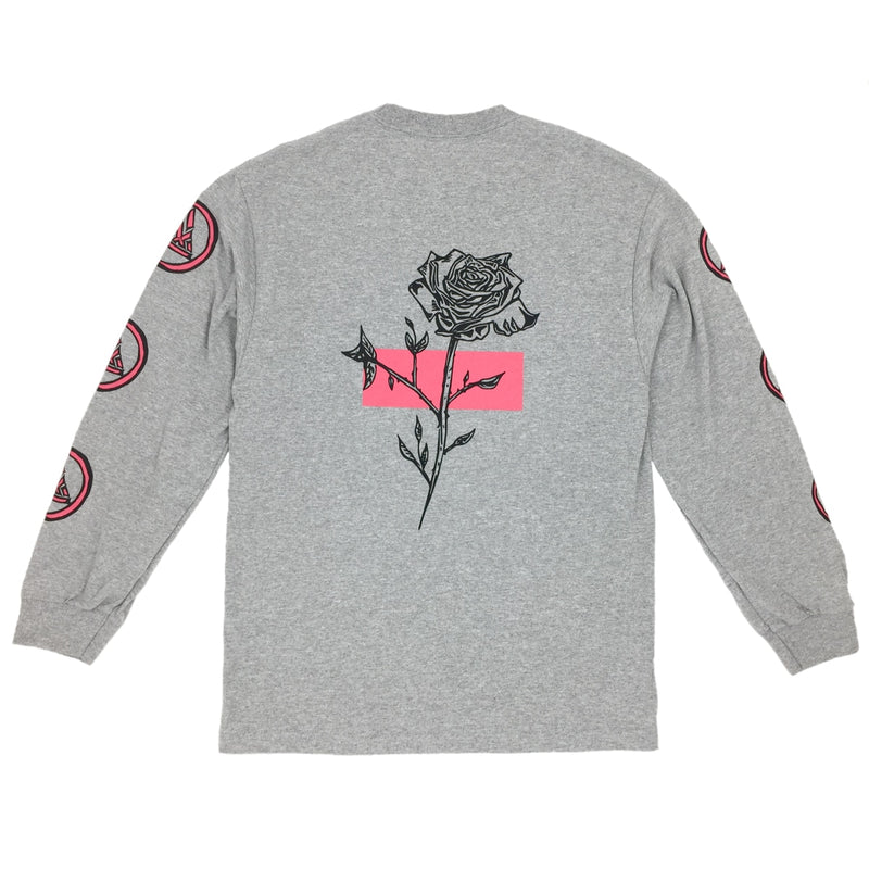 Exodus Rose Anoixi Long Sleeve Tee - Heather Grey