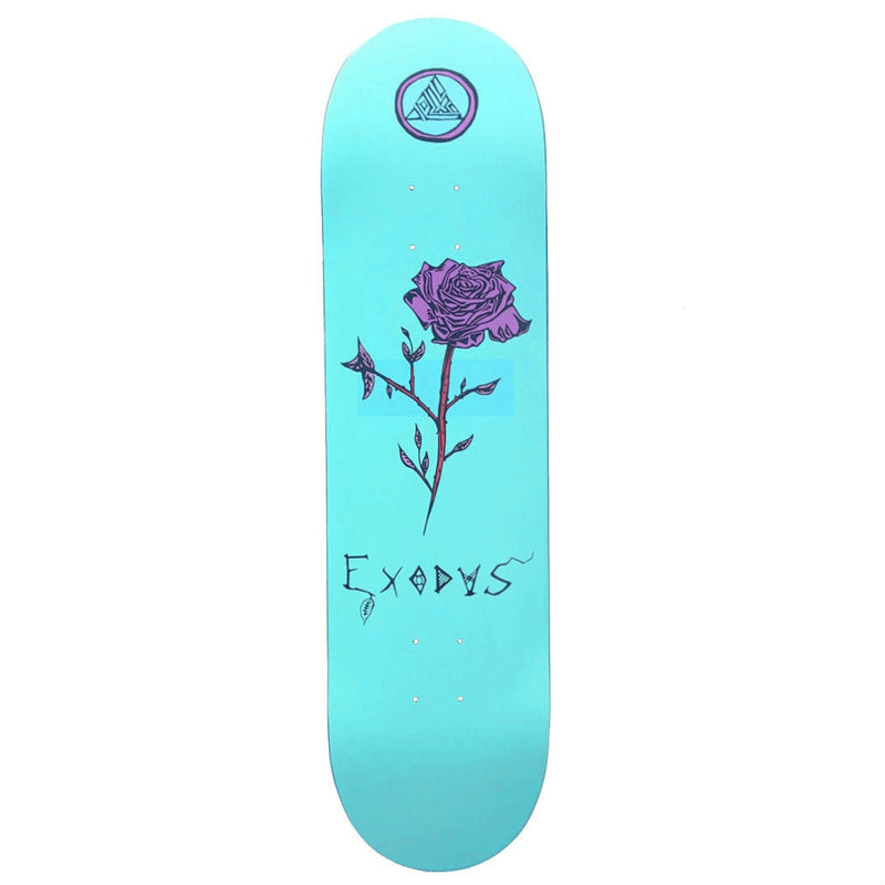 Exodus Anoixi Rose Skateboard Deck - Mint