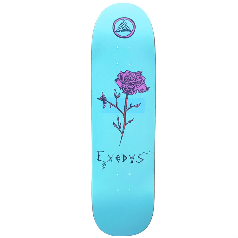 Exodus Anoixi Rose Shaped Skateboard Deck - Mint