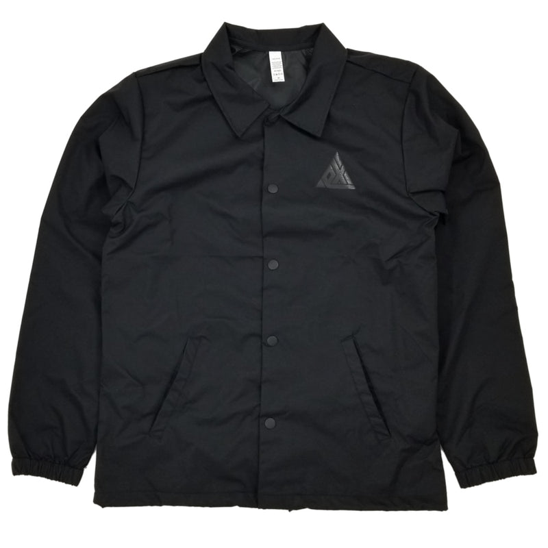 Exodus T1 Logo Coaches Jacket - Black/Black