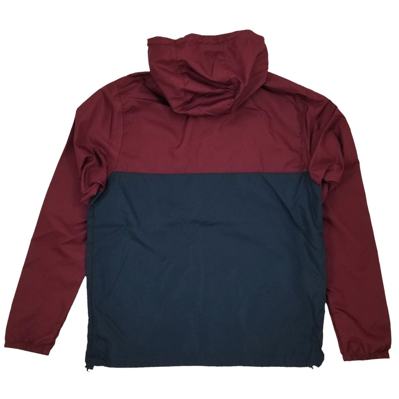 Exodus T1 Logo Windbreaker Jacket - Maroon/Navy/Black