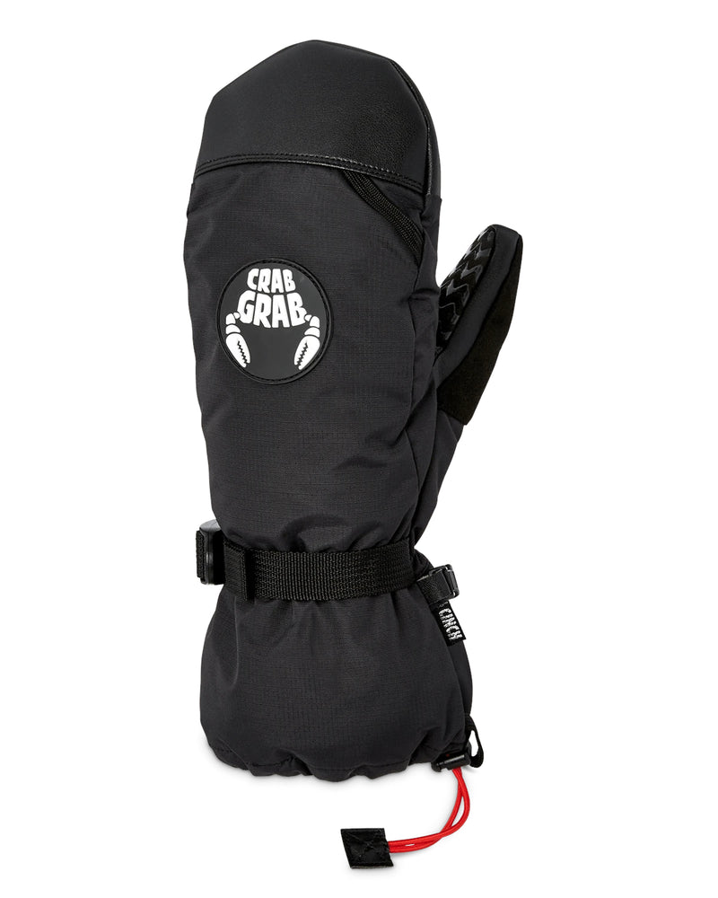 Black Cinch Crab Grab Snowboard Mittens