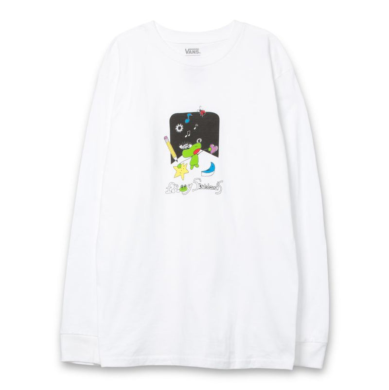 White Frog Skateboards x Vans Long Sleeve Shirt