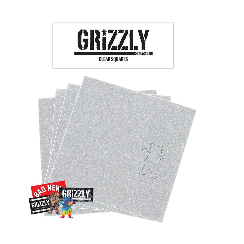 Grizzly Clear Squares Grip Tape