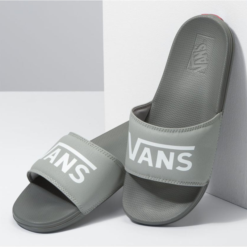 Drizzle Grey La Costa Vans Slide On Front