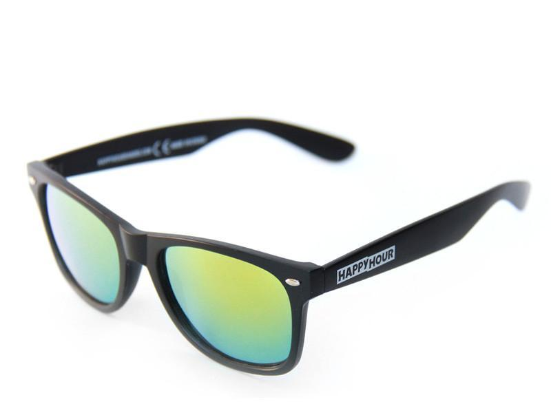 Happy Hour Beaches Shades - Black