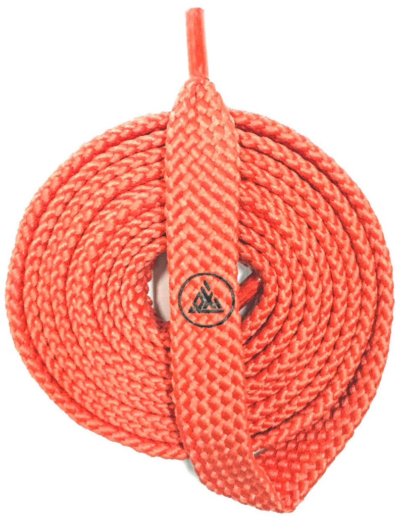 Exodus Logo Shoelace Belt - Coral / Black
