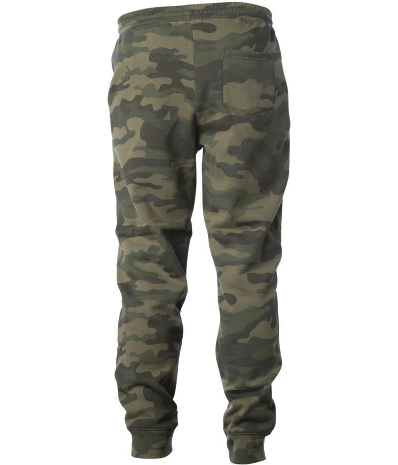 Exodus Optical Embroidered Sweatpants - Forrest Camo