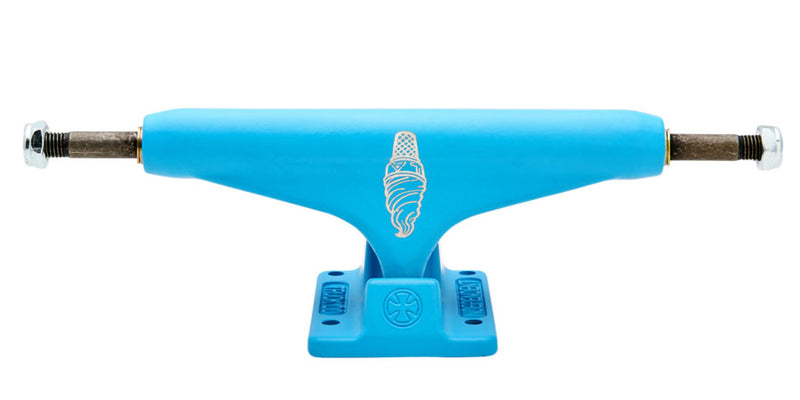 Light Blue Lizzie Armanto Hollow Stage 11 Independent Skateboard Trucks Front