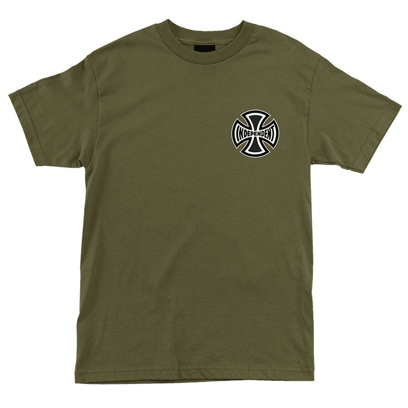 Independent Past- Present- Future Regular Tee - Military Green
