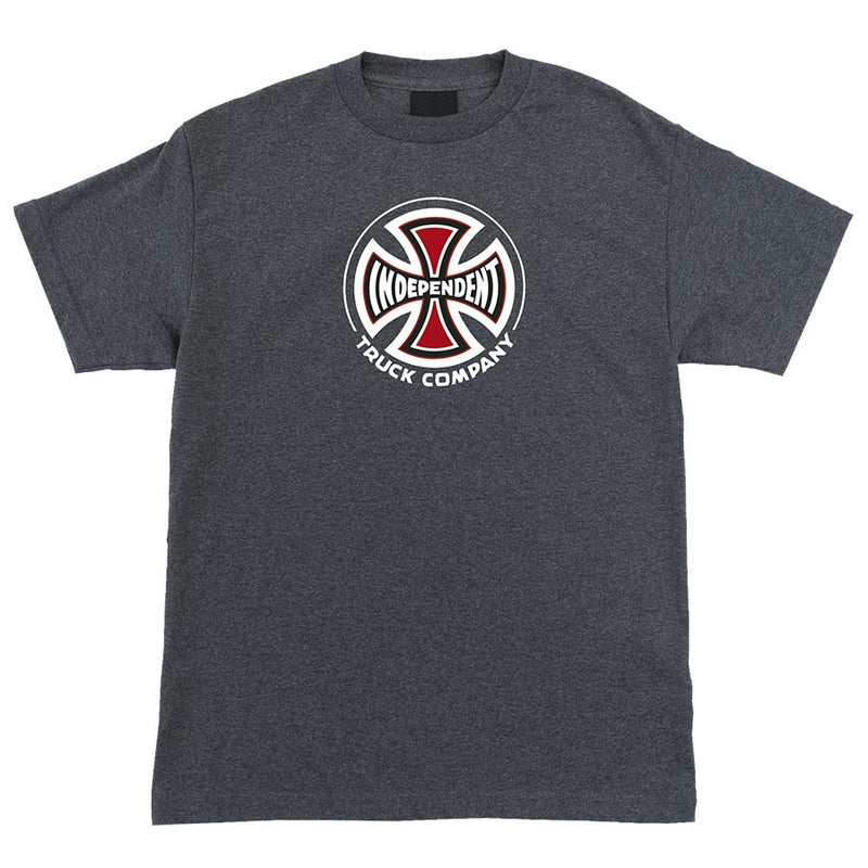 Independent Truck Co Boys Regular Tee - Charcoal Heather