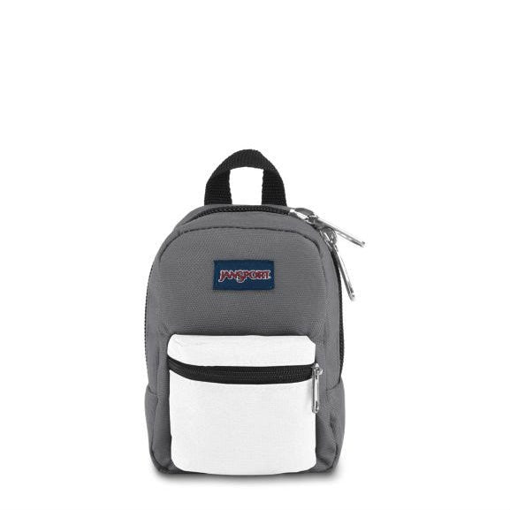 Jansport LIL Break Miniature Backpack - Shady Grey/White