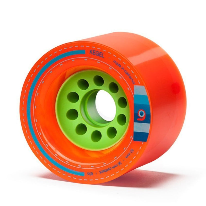 Orangatang Kegel 80mm Longboard Wheels- Orange