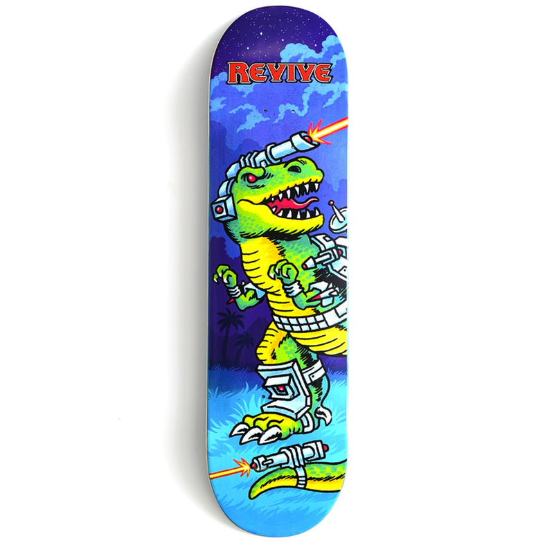 Revive Freaking Laser Beams Skateboard Deck