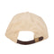 Tan Fresh Unstructured Low Profile OJ Wheels Strapback Hat Back