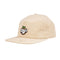 Tan Fresh Unstructured Low Profile OJ Wheels Strapback Hat