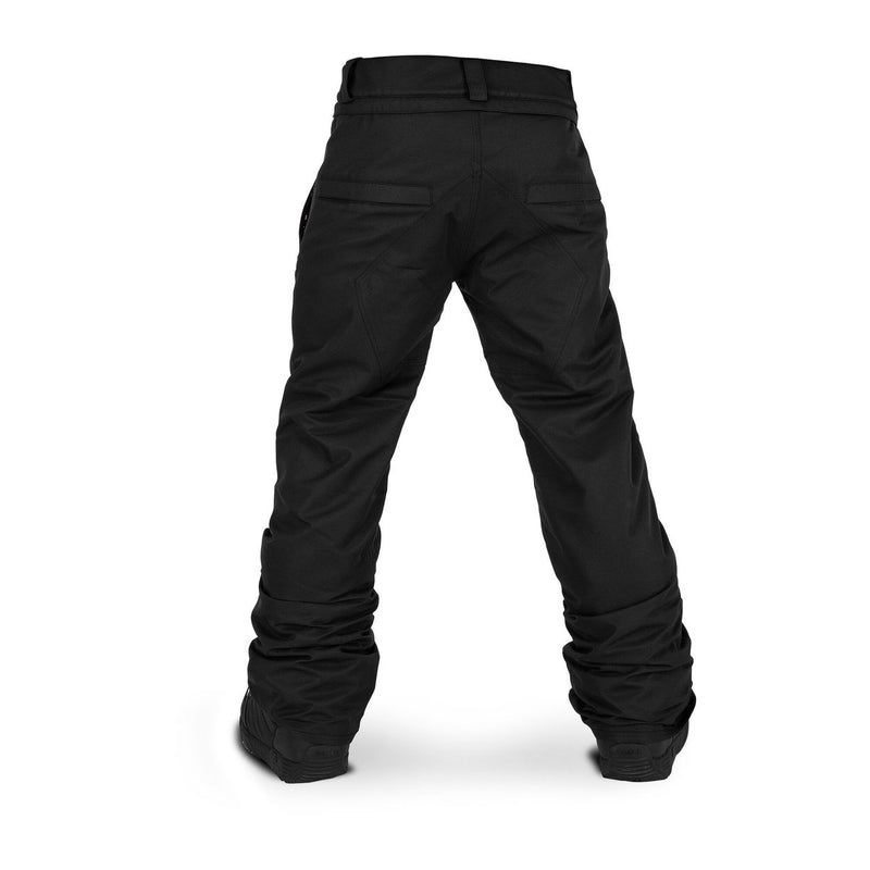Volcom Youth Freakin Snow Chino Snowboard Pants - Black