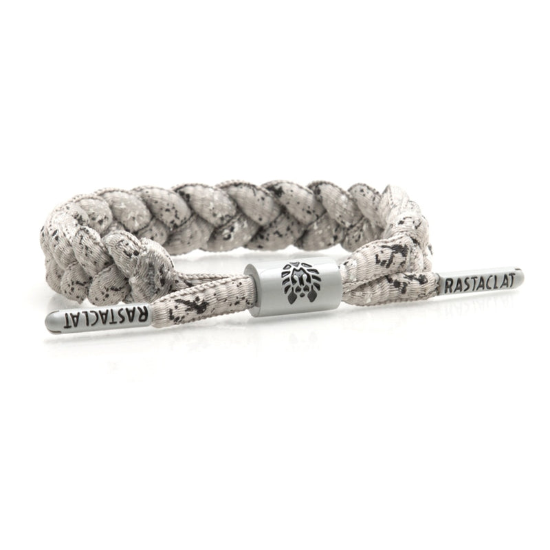 Rastaclat Curbside Gray/Black Shoelace Bracelet