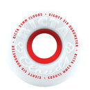 86A Red Ricta Clouds Skateboard Wheels