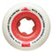 White 86a Cored Clouds Ricta Skateboard Wheels