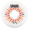 White 53mm Ricta Sparx Skateboard Wheels