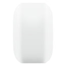 White 53mm Ricta Sparx Skateboard Wheels Shape