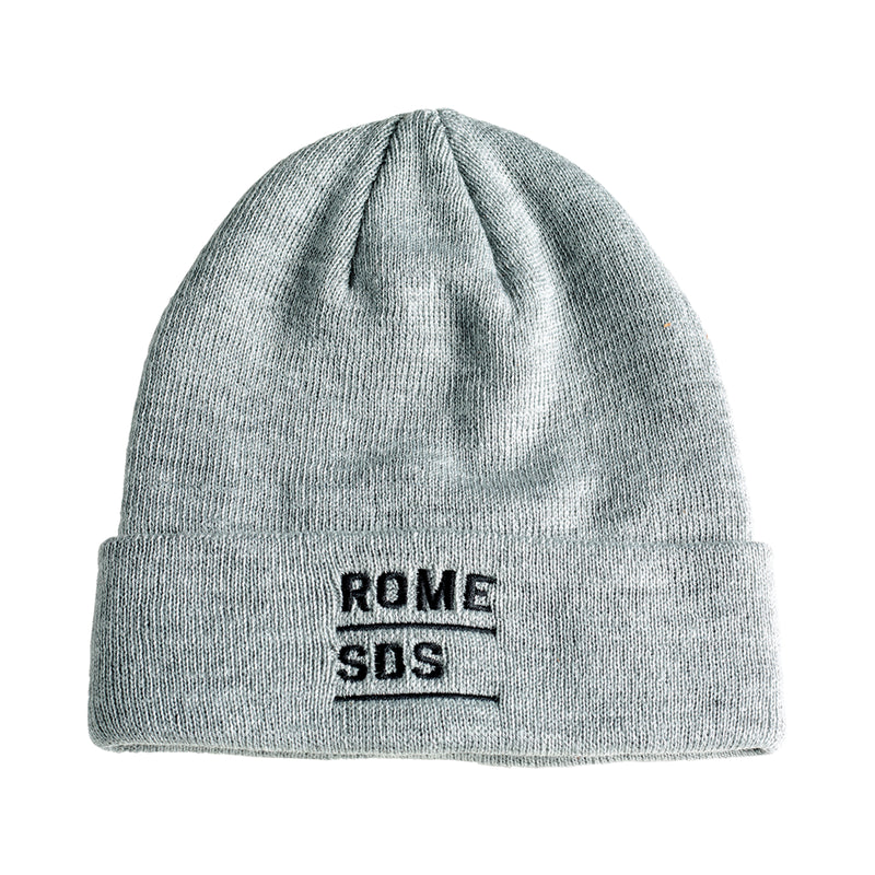 Grey Stacked Rome SDS Beanie