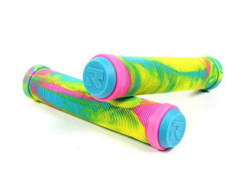 Root Industries Premium Mix Scooter Grips - Rainbow/Paddle Pop