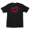 Black Depth Dot Santa Cruz T-Shirt Back