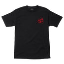 Black Depth Dot Santa Cruz T-Shirt