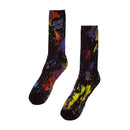 Vibrant Splatter Dot Santa Cruz Skateboard Socks