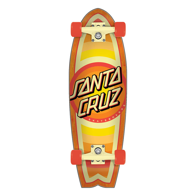 Gleam Dot Mini Shark Santa Cruz Cruiser