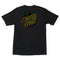 Glow Dot Santa Cruz Skateboards T-Shirt Back