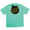 Celadon Glow Dot Santa Cruz Skateboards T-Shirt Back