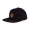 Black Glow Santa Cruz Skateboard Unstructured Snapback Hat