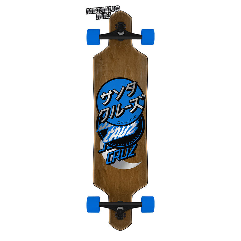 "36"" Group Dot Santa Cruz Drop Thru Longboard"
