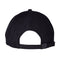 Black Linear Dot Santa Cruz Strapback Hat Back